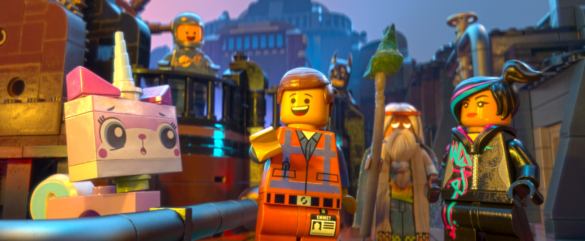 Nine new clips from The LEGO Movie