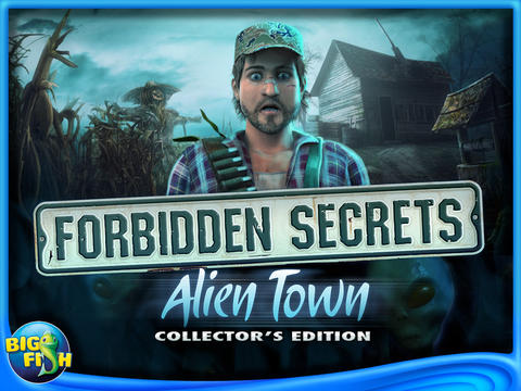 iOS App of the Day: Forbidden Secrets: Alien Town