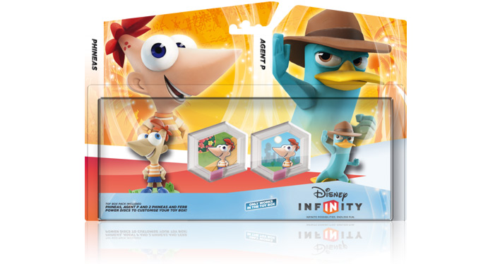 Phineas & Ferb Toy Box springs into Disney Infinity