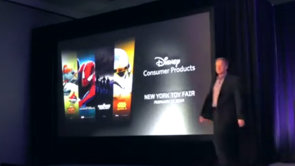 The Full Disney New York Toy Fair 2014 event