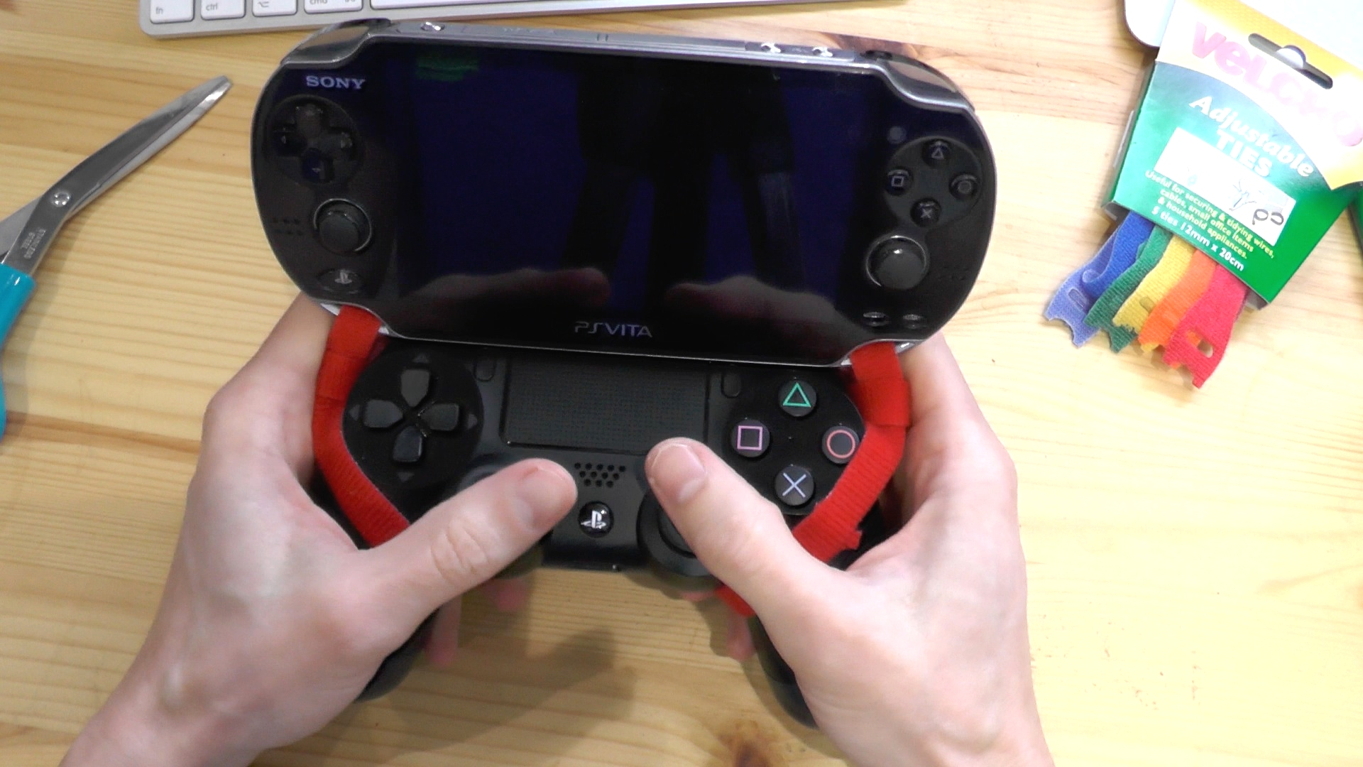 How to make a PS Vita/PS4 combo controller