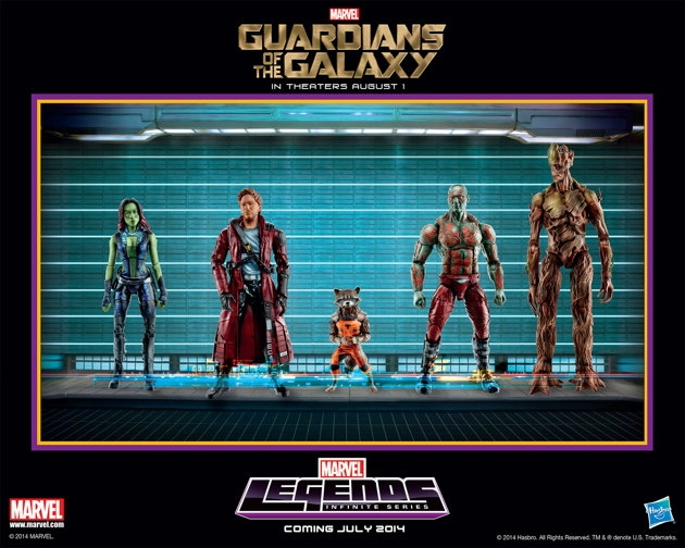 Guardians of the Galaxy toys spotted