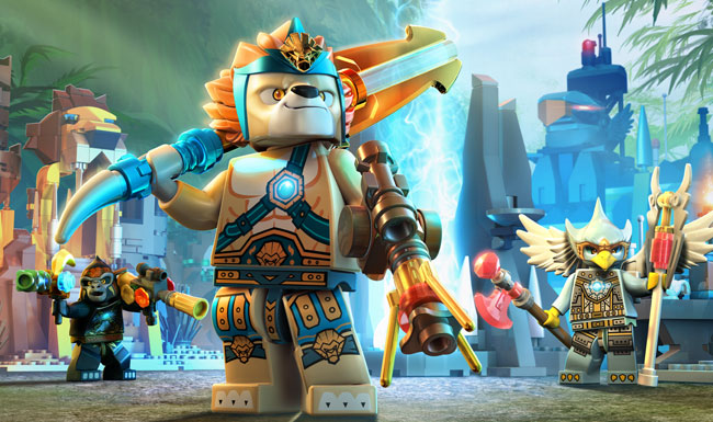 iOS App of the Day: LEGO Legend of Chima Online