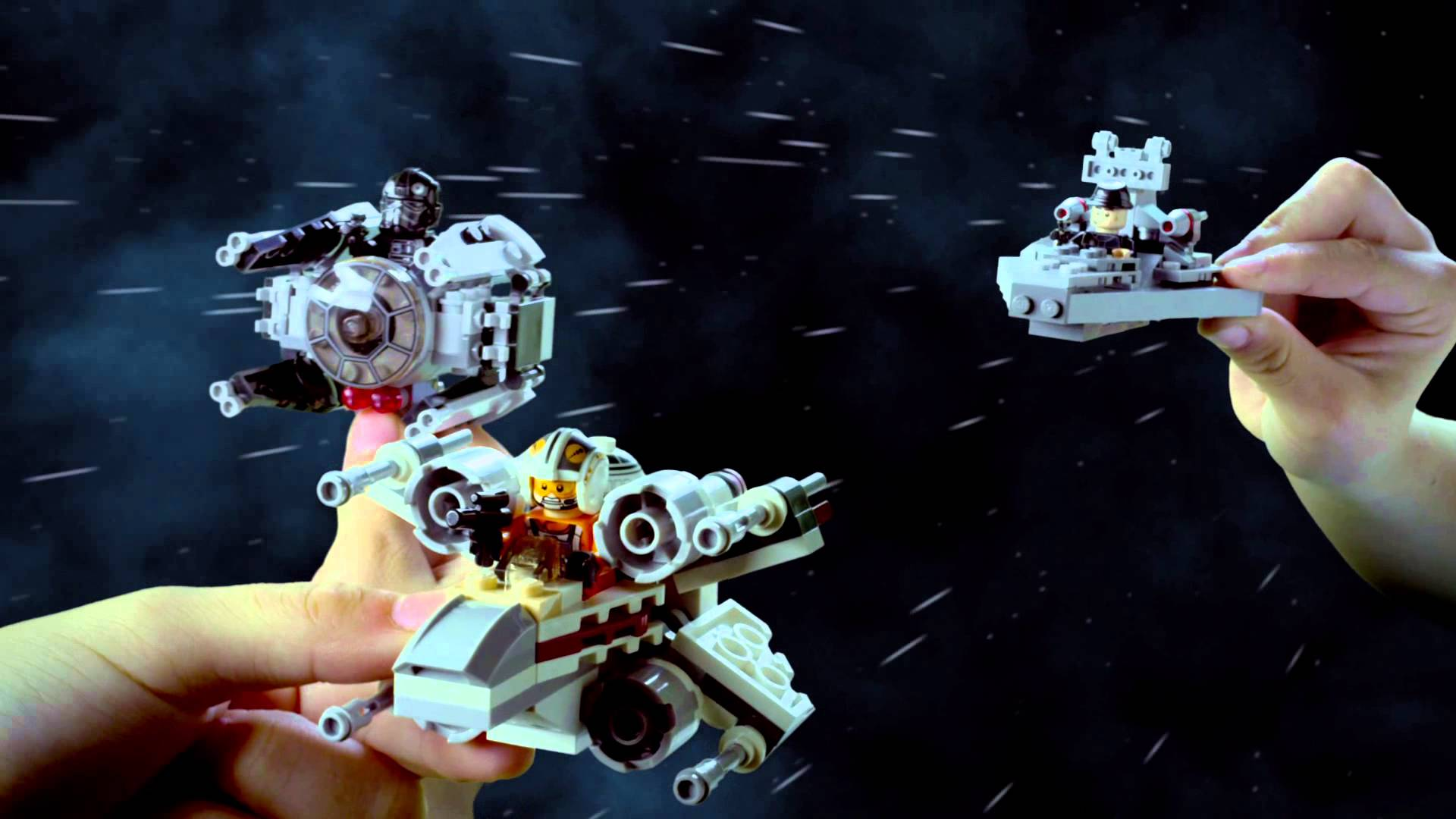 LEGO Star Wars: Microfighters app out on iOS now!