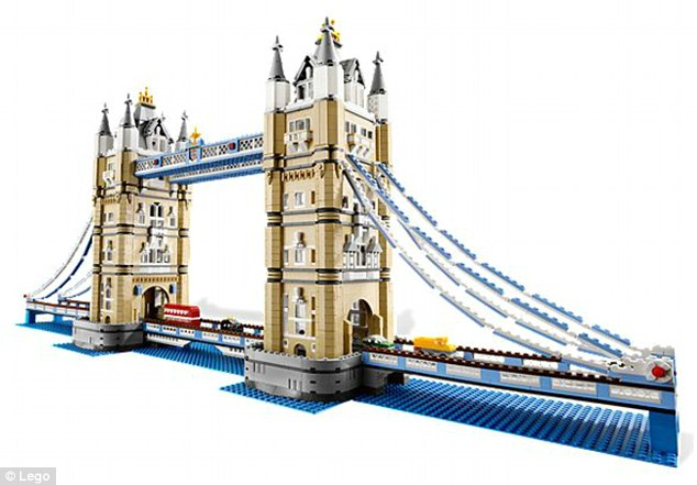 David Beckham built this LEGO Tower Bridge