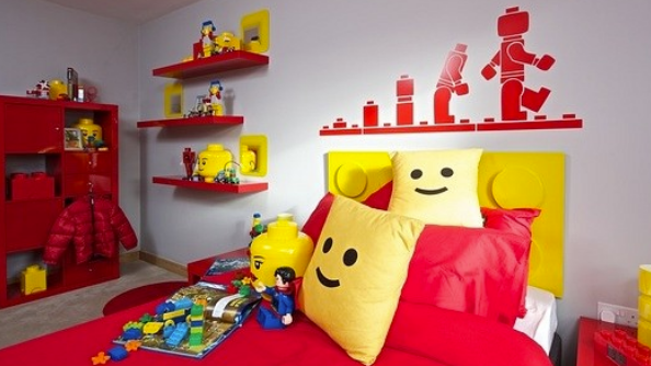 Take a look at this Lego Bedroom