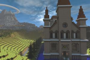 Minecraft Hyrule 01