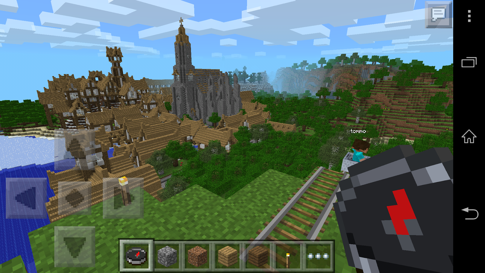 Exploring the new update in Minecraft Pocket Edition