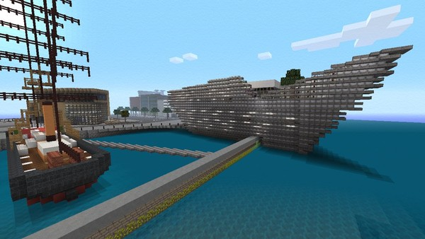 Minecraft's next texture pack is Cities, first screen here