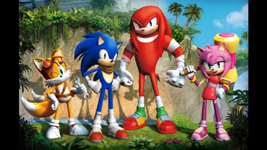Sega announce Sonic Boom