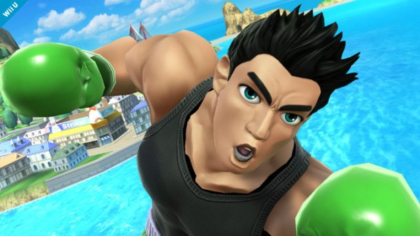New Super Smash Bros. screens show Little Mac