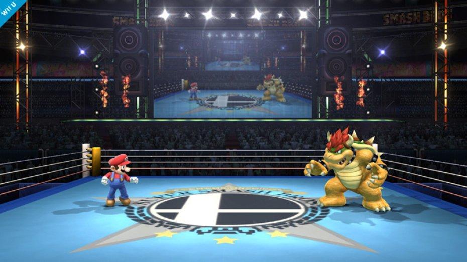 Super Smash Bros boxing ring 01