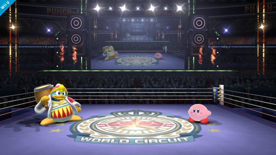 Super Smash Bros boxing ring 02
