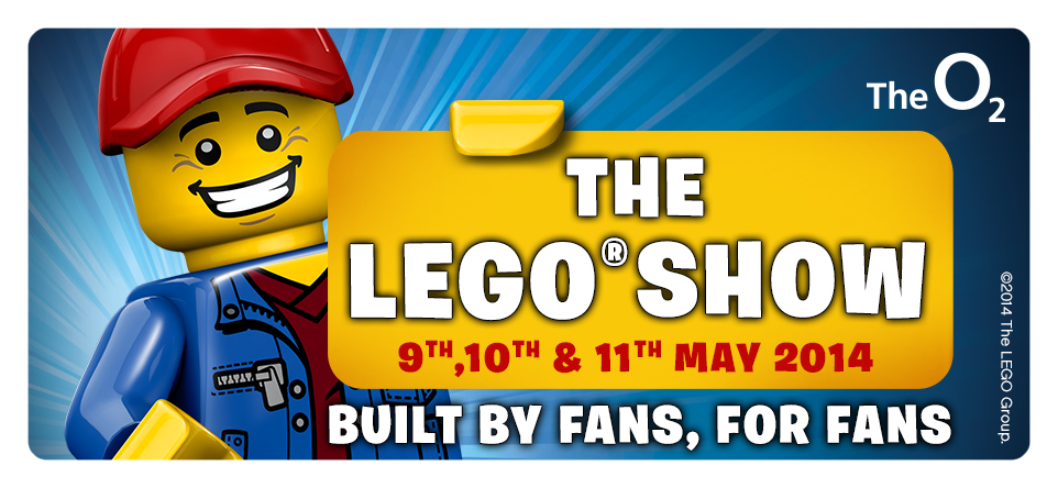 LEGO Show at the London O2 this May