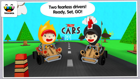 iOS App of the Day: Toca Cars