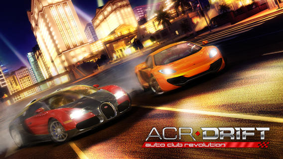iOS App of the Day: ACR DRIFT