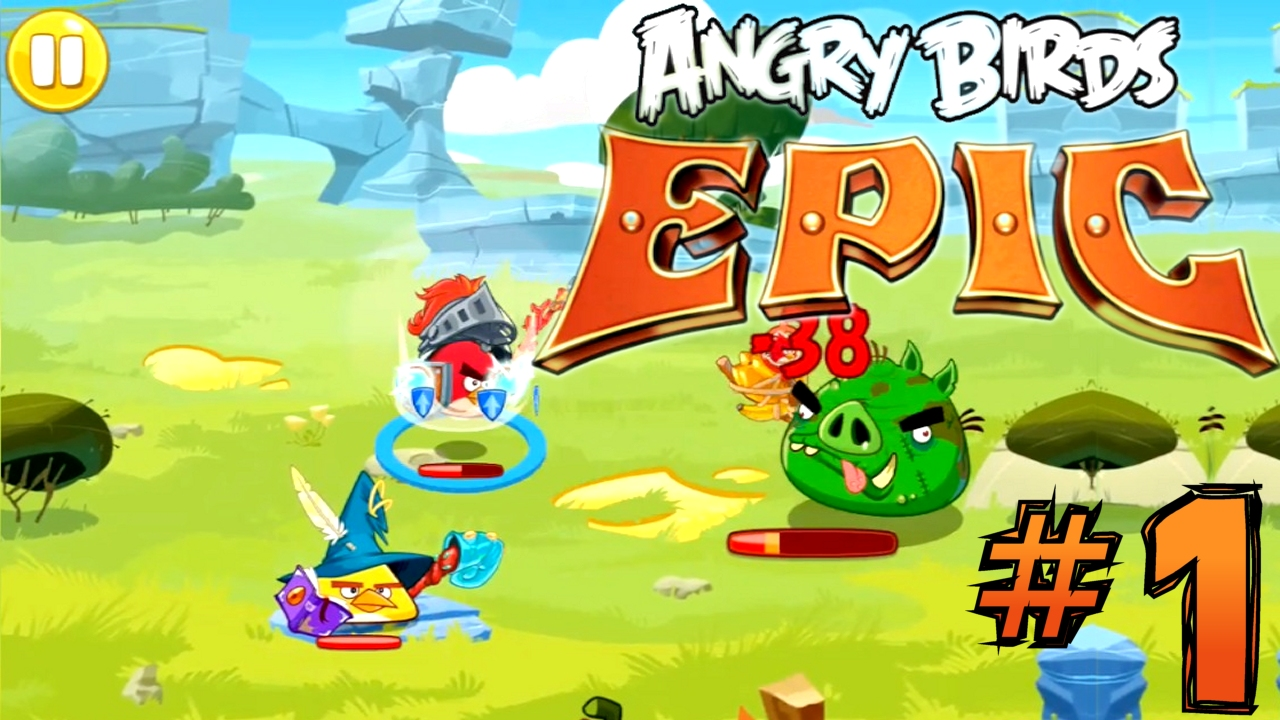 Watch the first 30mins of Angry Birds Epic