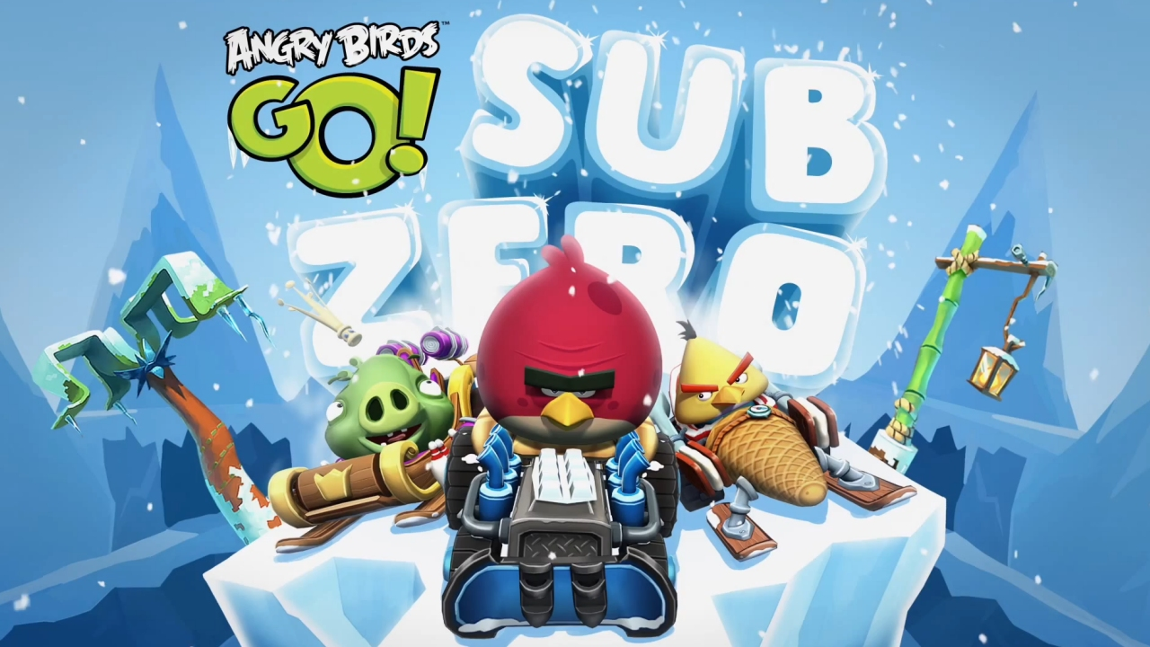 Angry Birds Go! New Sub Zero Update is Finally Here!