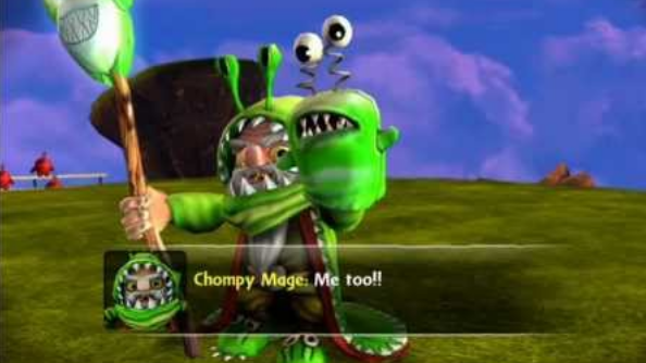 Chompy mage