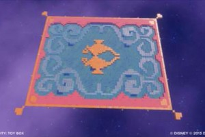 Disney Aladdin magic carpet