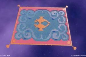 Disney Aladdin magic carpet