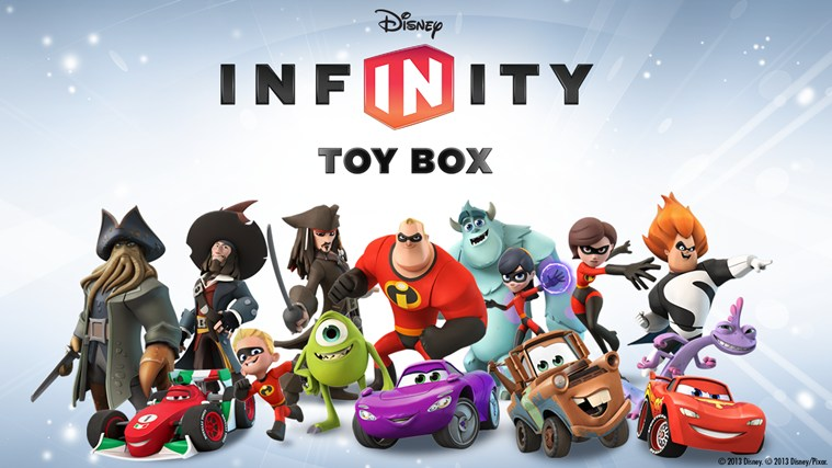 Disney Infinity app gets to open the Toy Box