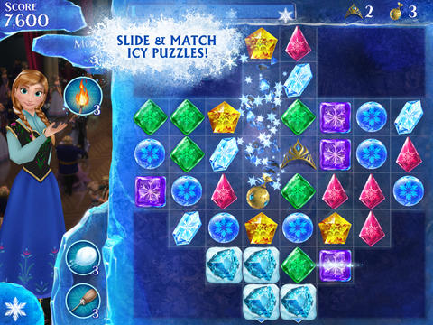 iOS App of the Day: Frozen Free Fall