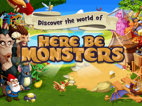 iOS App of the Day: Here Be Monsters