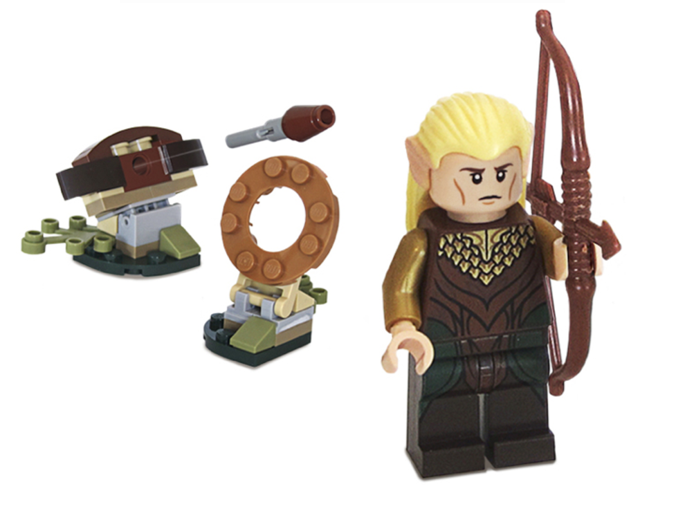 Free Hobbit Lego with Desolation of Smaug Blu-ray