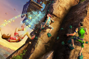 Kinect Sports rock climb