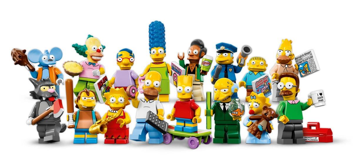 LEGO Simpsons minifigs revealed