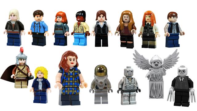 LEGO Who Companions