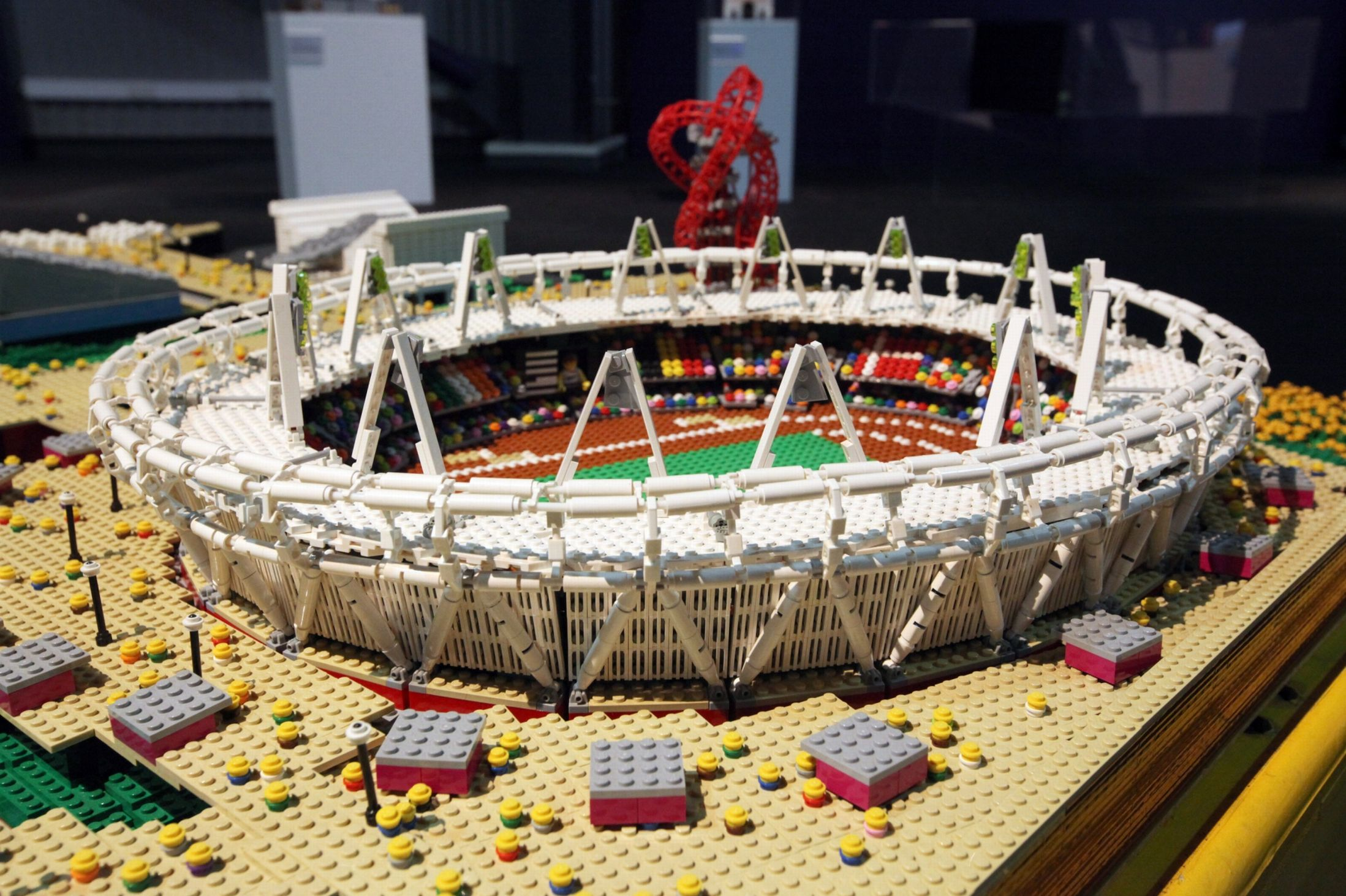 Lego Brick City London Olympic Stadium Boxmash