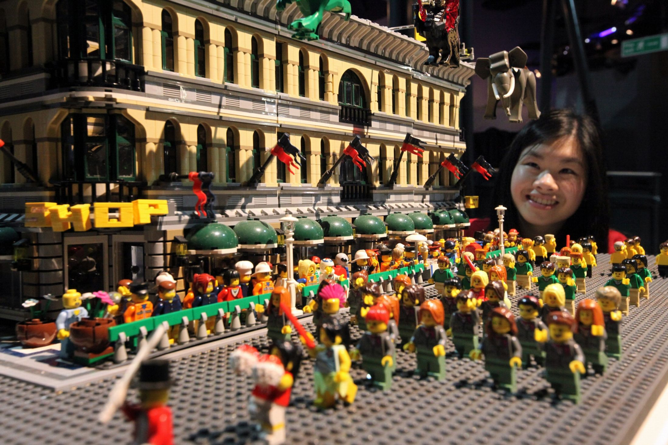 Lego Brick City on show in Newcastle