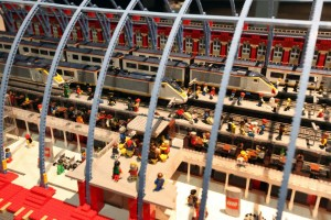 Lego Brick City - St Pancras Station