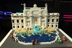 Lego Brick City - Trevi Fountain