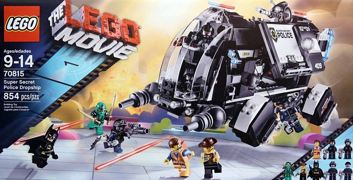 New Lego Movie construction kits look awesome