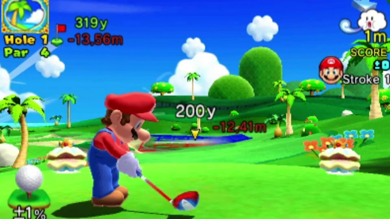 Mario Golf: World Tour goes under the sea
