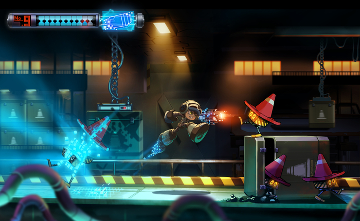 Mighty No.9 trailer is mega