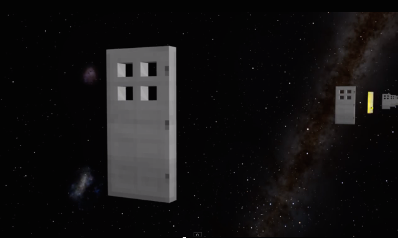The Speed of Light visualised with Minecraft