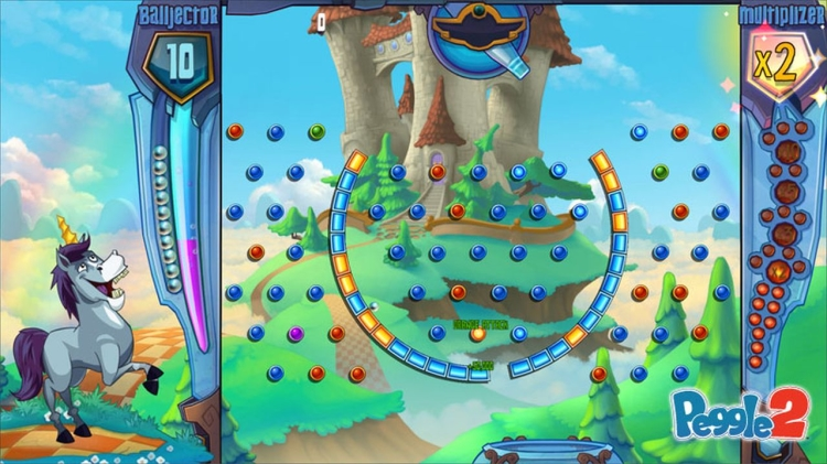 Peggle 2 now on PS4