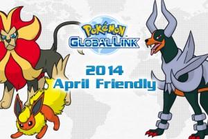 Pokemon April Friendly