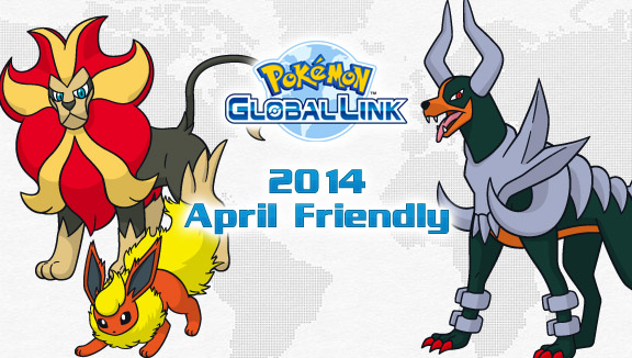 2014 Pokémon X and Y April Friendly Competition Announced