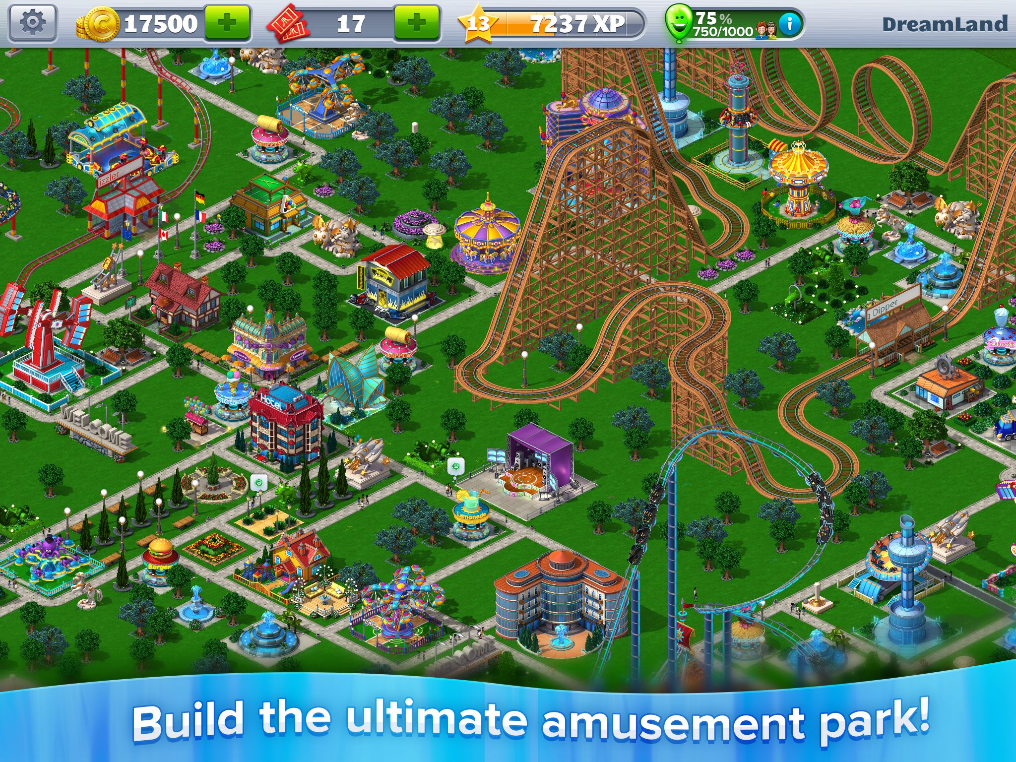 Rollercoaster Tycoon 4 goes mobile!