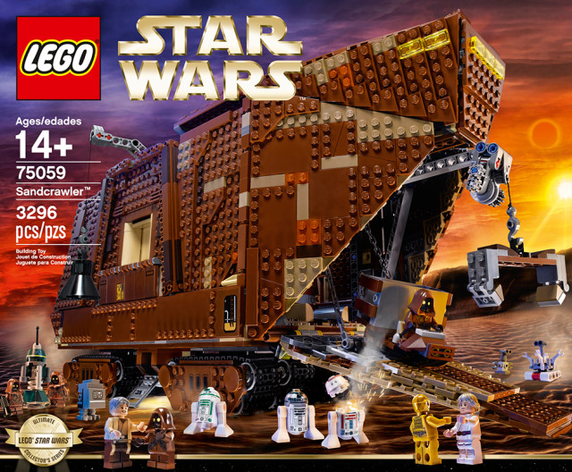 Check out this amazing LEGO Star Wars Sandcrawler