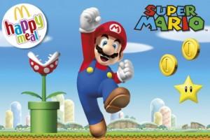 Super Mario happy