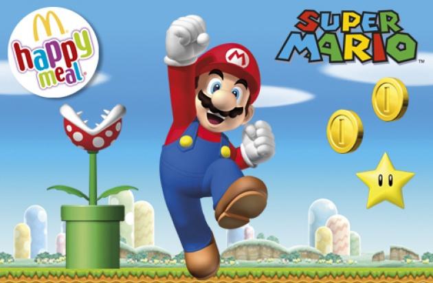 Mario McDonalds Happy Meals Coming Next Week!