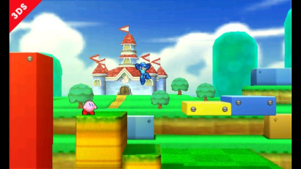 Super Smash Bros Mario stage 01