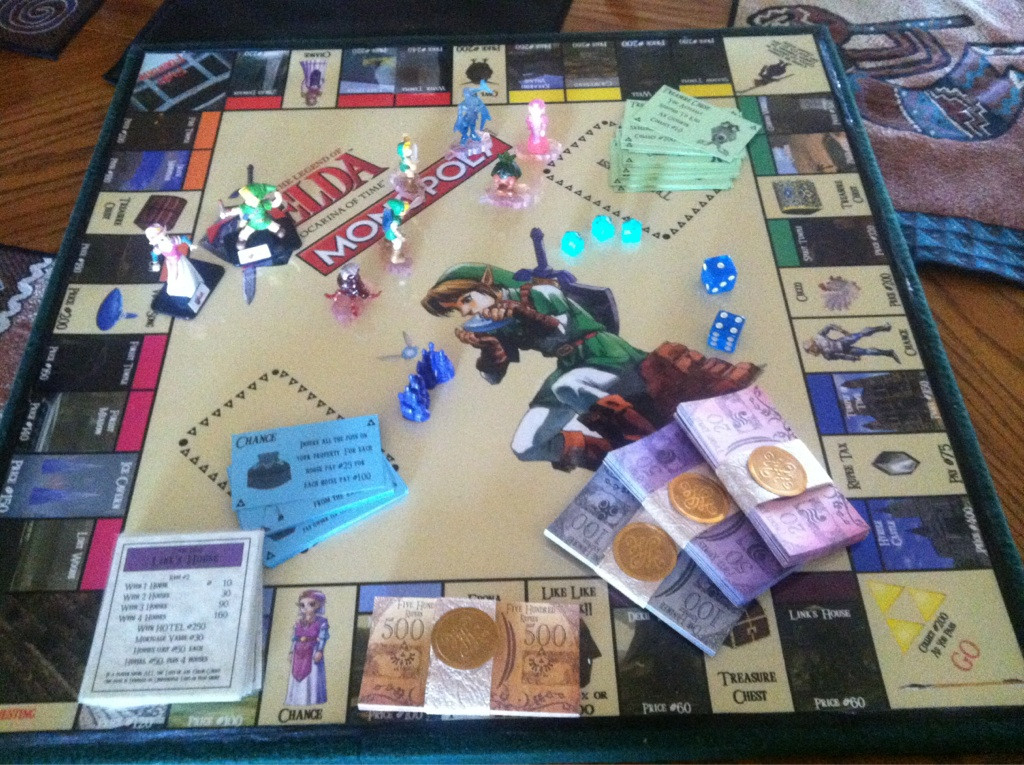 This Zelda Monopoly board was made by a fan, but the official version could look just like it!
