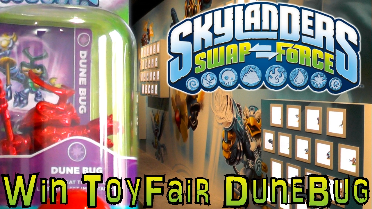 COMPETITION: Win Skylanders Limited Edition Dune Bug